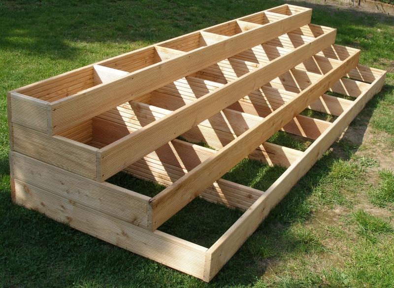Konstrukcja Schodów Z Modrzewia Syberyjskiego Drewniany
